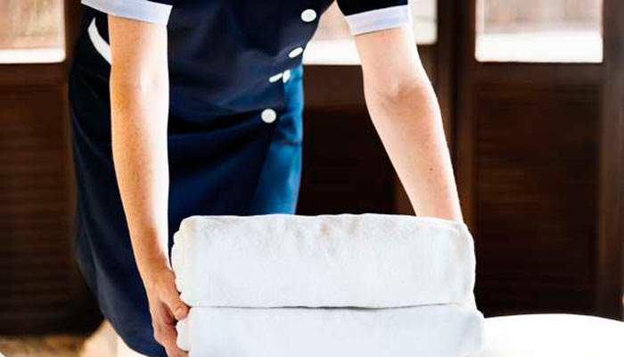 camarera de pisos
