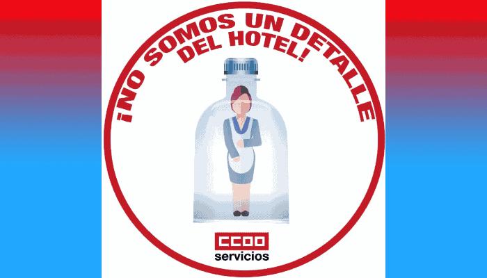 Las kellys no somos amenities del hotel