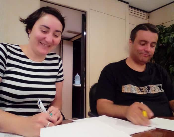 Firma Convenio Oficinas y Despachos Canarias