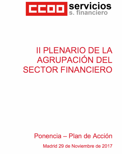 Plenario agrupación sector financiero canarias