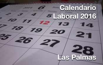 Calendario Laboral 2015 Las Palmas