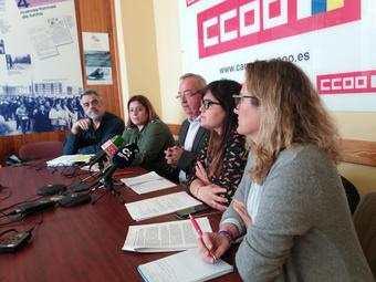 Rueda prensa CCOO Turismo en Canarias