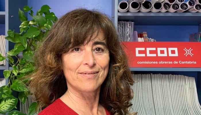 Marta Careaga. Federación de Servicios de CCOO de Cantabria