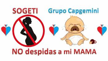 No despidos embarazadas en Sogeti