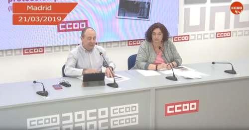 Reuda prensa Carlos Bravo CCOO Mercado de trabajo y protección por desempleo?