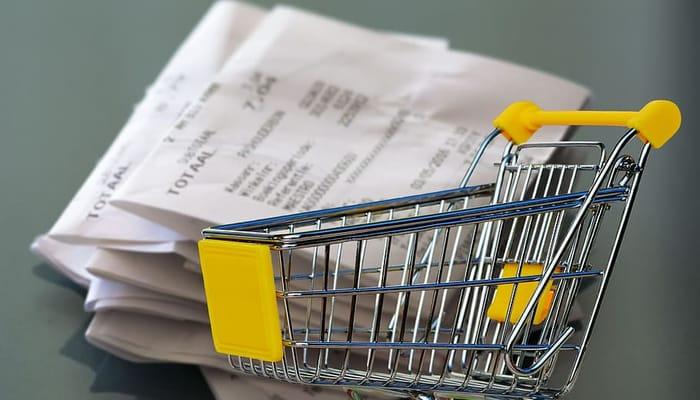 Carro supermercado ilustra negociación colectiva en comercio