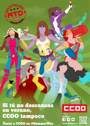 Cartel Mujeres SummerWar