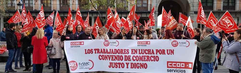 Concentración Comercio Toledo
