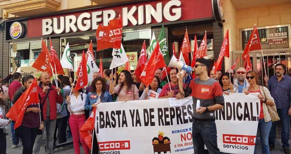 Elecciones burger king Comisiones Obreras