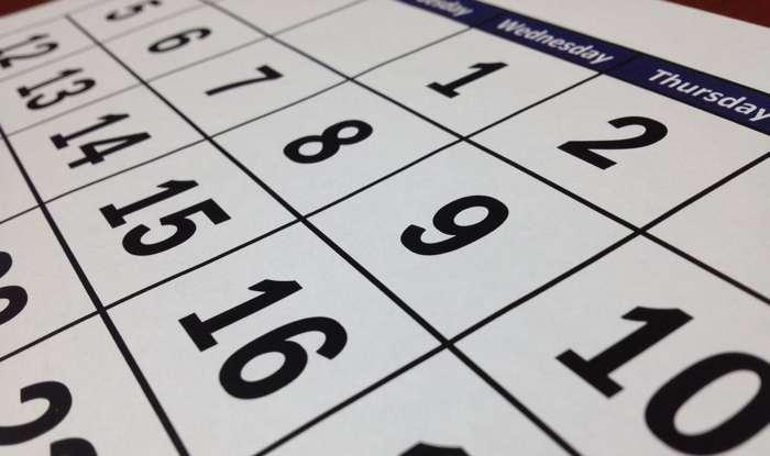 Calendario festivos en Castilla la Mancha