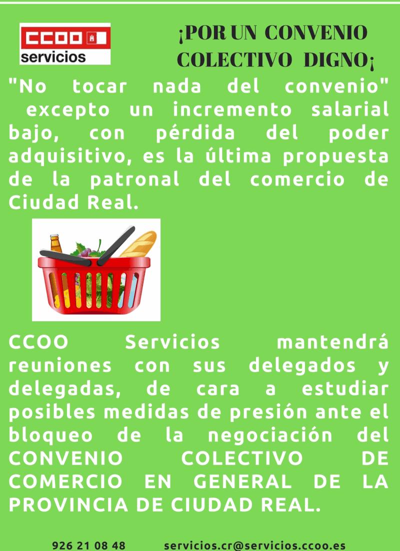 Campaña CCOO Comercio Ciudad Real