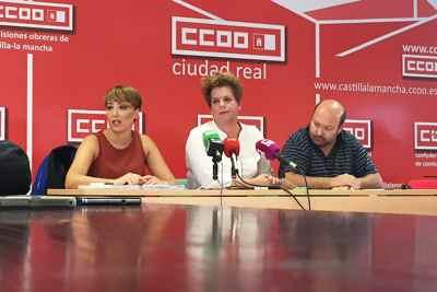 CCOO y UGT- Ciudad Real. Firma convenio comercio