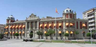 Imagen diputación Ciudad Real. Ilustra convenio comercio textil Ciudad Real