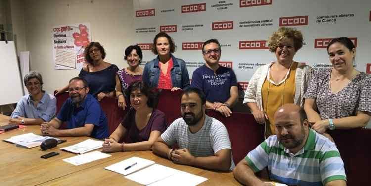ejecutiva ccoo servicios Castilla la Mancha