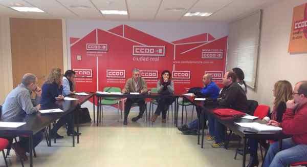 Reunion Ingenierias CCOO Castilla la Mancha