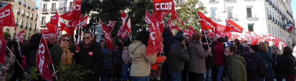 Movilizaciones CCOO