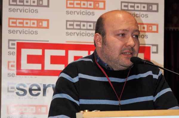 Santiago Zafrilla. CCOO Castilla la Mancha