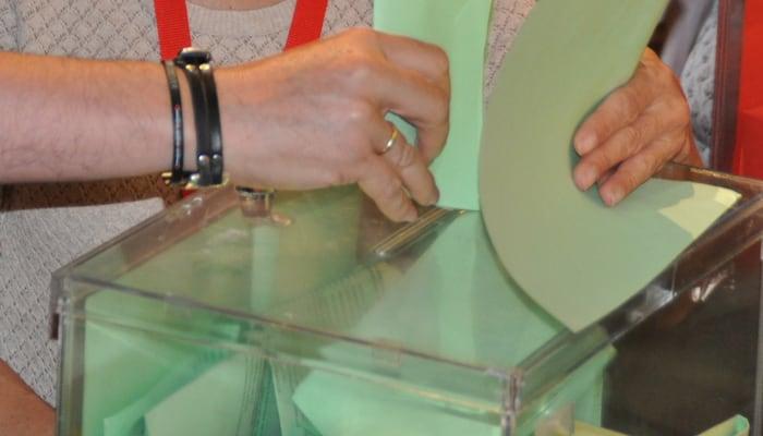 Imagen de urna, elecciones sindicales