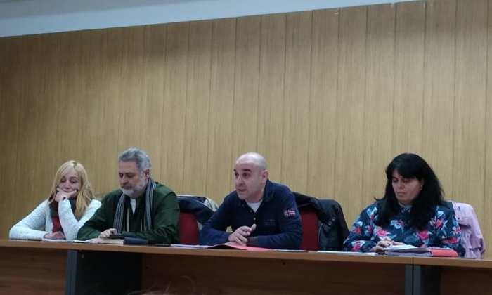 Asamblea CCOO y UGT  Comercio Burgos