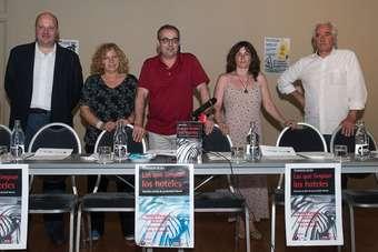 Presentación Libro las que limpian los hoteles en Valladolid