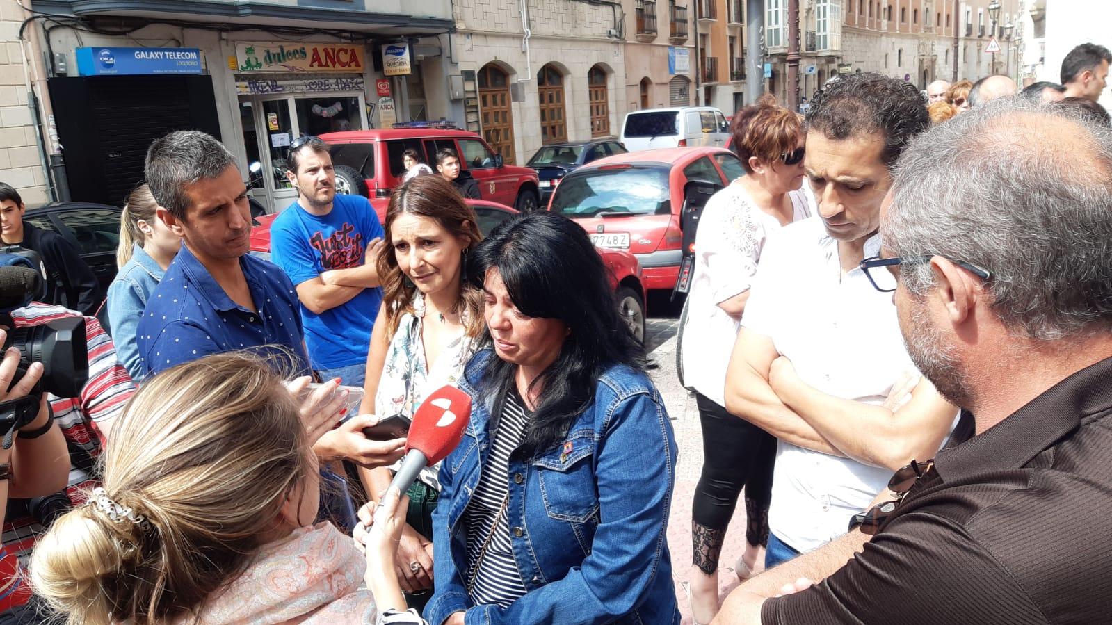 concentradción en Burgos repulsa asesinato Pepi