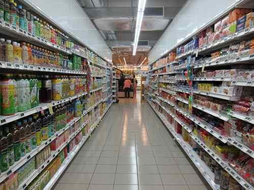 Supermercado alimentación
