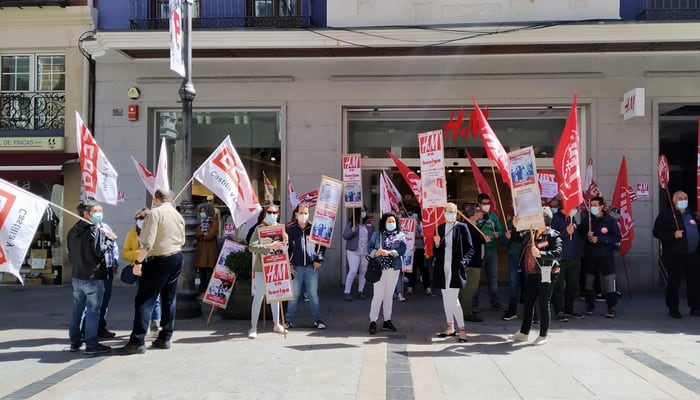 Movilizacions H&M Castilla y León