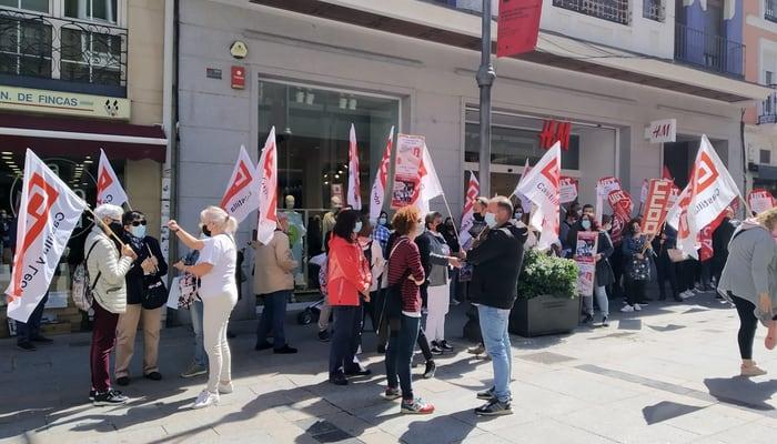 Concentraciones H&M Castilla y León