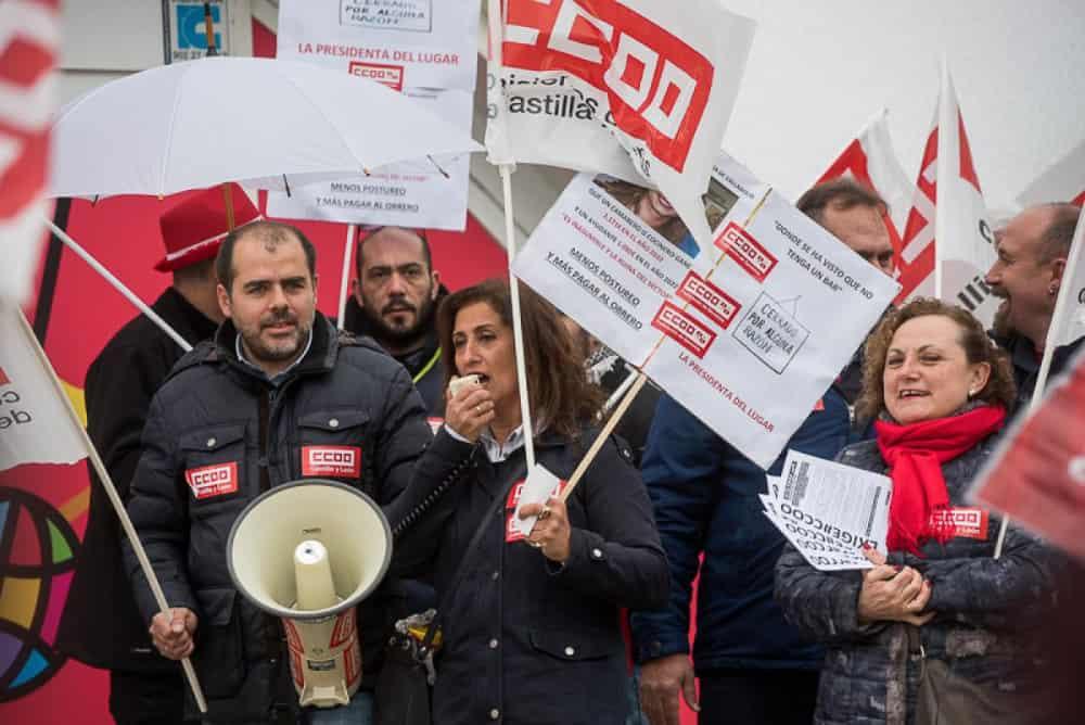 Manifestación hosteleria Valladolid