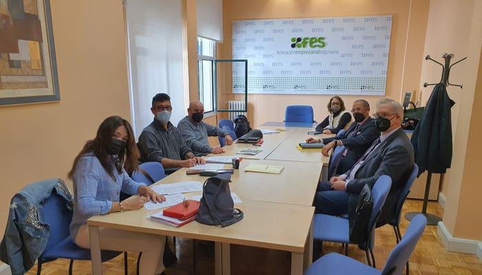 Firma del Convenio de Oficinas y Despachos de Segovia
