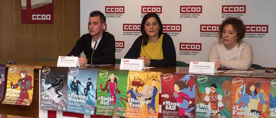 Precaritywar en CCOOO Castilla y León. Contra la precariedad laboral
