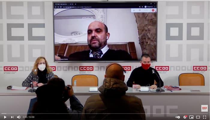 Rueda de prensa hosteleria Castilla y León