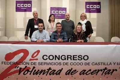 ejecutiva CCOO Servicios Castilla y León