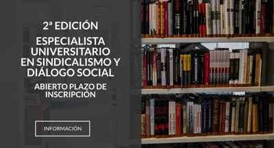 """Curso """"Especialista Universitario en Sindicalismo y Dialogo Social"""""""
