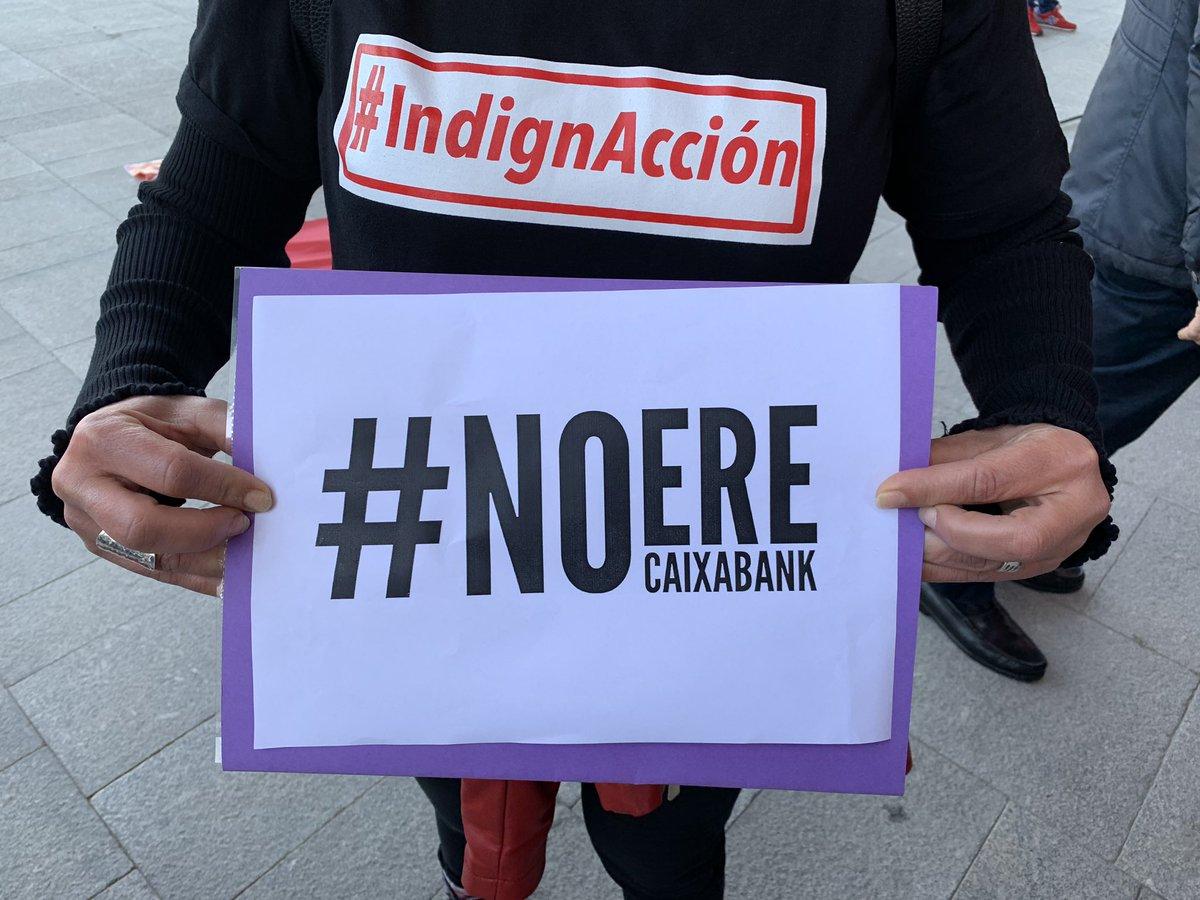 CCOO NO ERE a Caixabank #IndignAcción