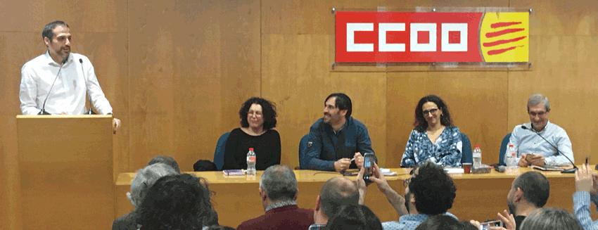 Ramon Gonzalez Monroy  - Luis Jiménez Mesa - Consell 29 de gener - CCOO Serveis Catalunya