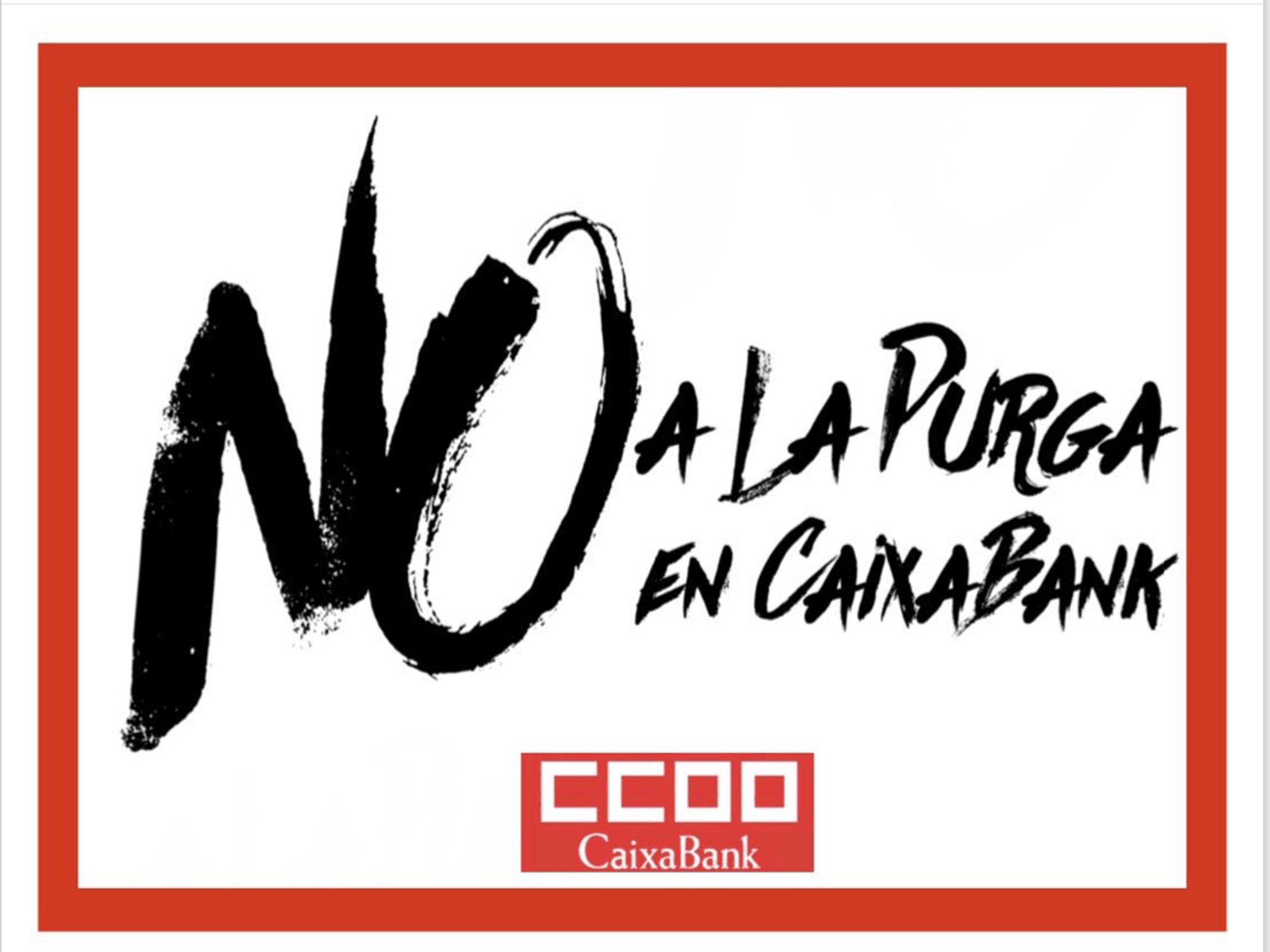 #NoEROCaixaBank #NoALaPurgaEnCaixaBank