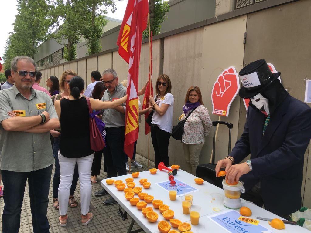 Mobilització Eurest Girona