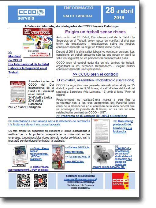 Info SALUT LABORAL - 28 d