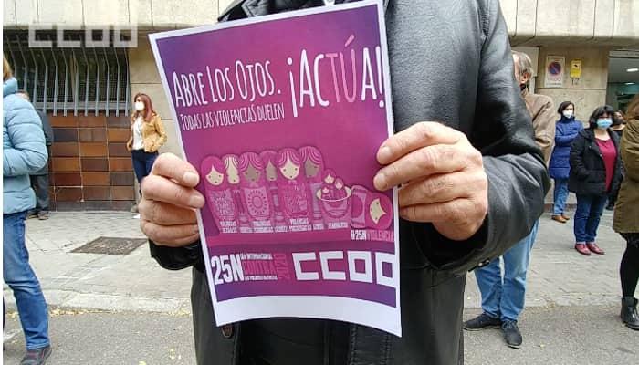 CCOo contra las violencias machistas
