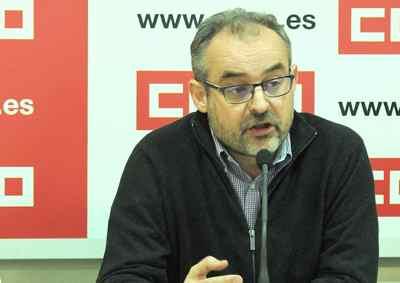 Rueda prensa Federacion Servicios. José María Martínez
