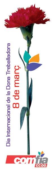 Clavel 8 marzo comisiones obreras