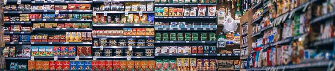 Pasillo de supermercado