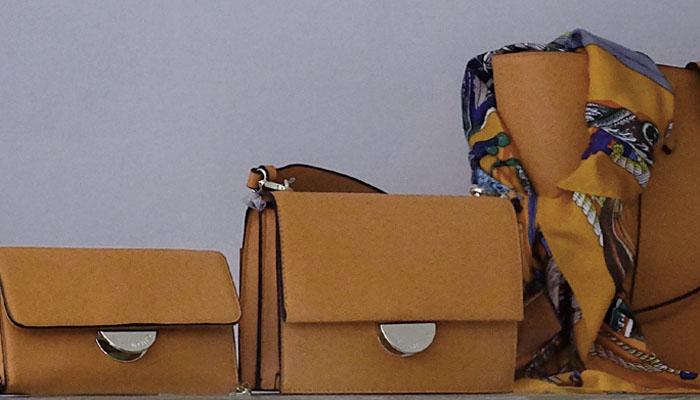 bolsos, piel, comercio