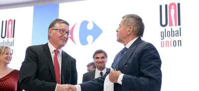 Acuerdo internacional Carrefour UNI  Global Union