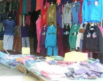 Huelga en Los Telares, comercio textil