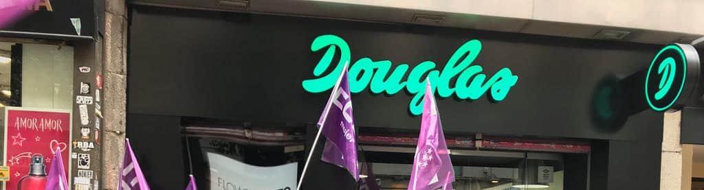 Huelga en Douglas