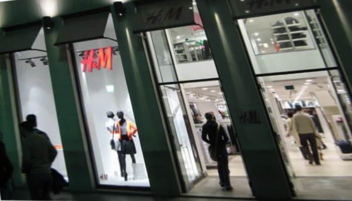 Tienda H&M Barcelona. ERTE