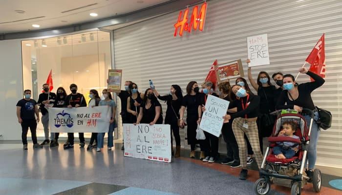 H&M en centro comercial