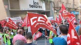 Huelga en los Telares Mérida